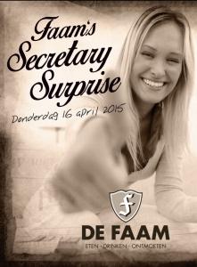 Secretary Surprise